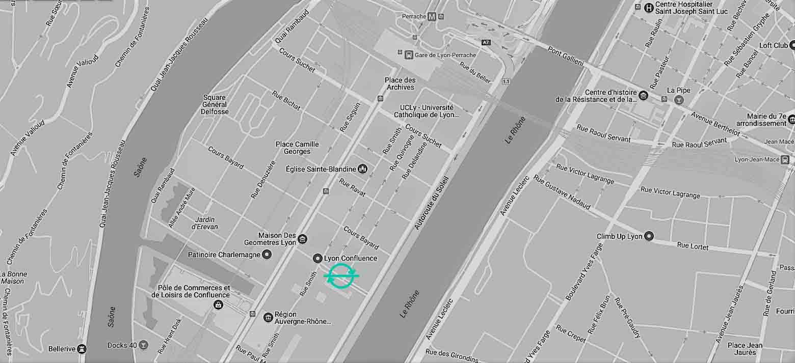 L'Agence Wake Up Lyon Live Escape Game est située en plein coeur du quartier de Confluence.