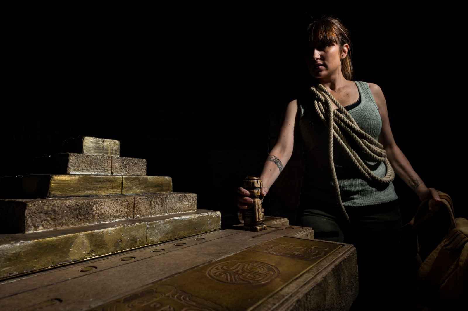 Aventure dans la pyramide du temple d'Inti Kancha