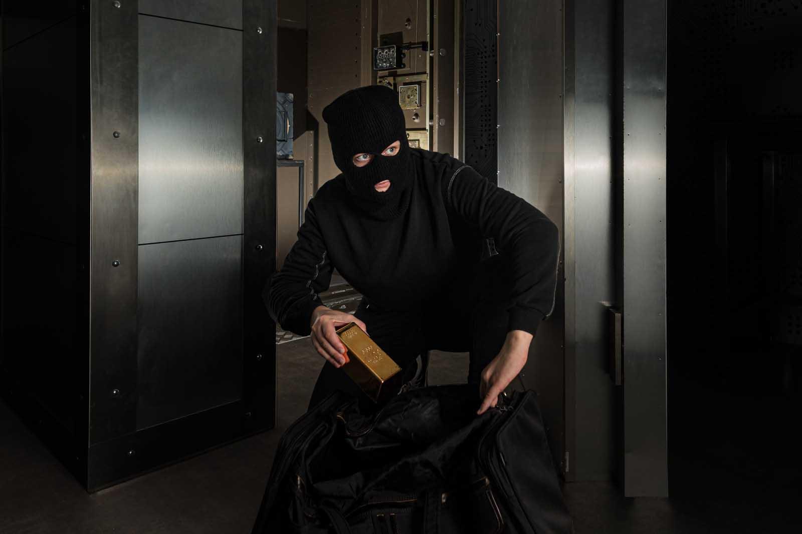Braquage dans la salle des coffres du Casino Protocole Vegas